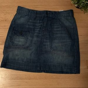 Tommy Hilfiger denim skirt blue size 6